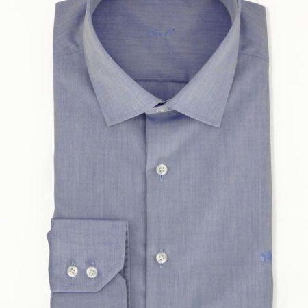Blaues Hemd bügelfrei Ben