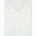 Weiss strukturiertes Superior Hemd Lias